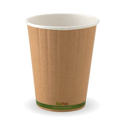 DOUBLE WALL CUP BIOPAK KRAFT