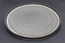 PLATE FLAT BROWN 265MM, CERAMICA