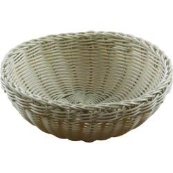 BREAD BASKET 240MM ROUND POLYPROPYLENE