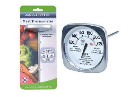 THERMOMETER MEAT LARGE DIAL, ACURITE