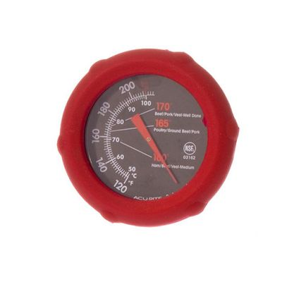 THERMOMETER MEAT DIAL SILICONE, ACURITE