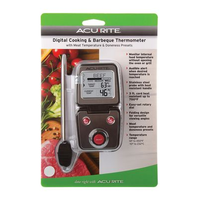 THERMOMETER MEAT PROGRAMMABLE, ACURITE