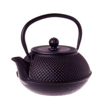 TEAPOT BLACK CAST IRON 800ML, TEAOLOGY