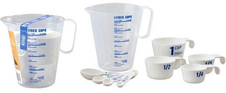 MEASURING SET 9PCE JUG/CUPS/SPOONS DECOR