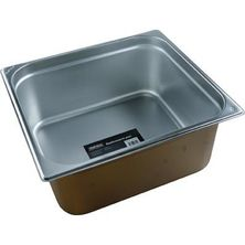 GASTRONORM PAN 18/10 2/3 SIZE 150MM