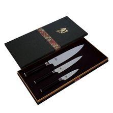KNIFE SET 3PCE BOXED, KAI SHUN