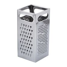 GRATER 4 SIDE SQUARE HD 185MM S/ST- CI