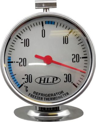 THERMOMETER FRIDGE/FREEZER -30 TO 30,HLP