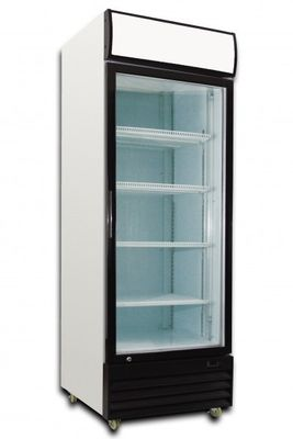 FRIDGE UPRIGHT 1 DOOR GLASS SALTAS