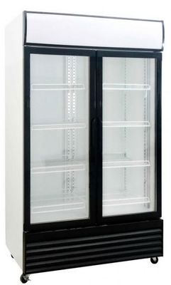 FRIDGE UPRIGHT DOUBLE GLASS DOOR