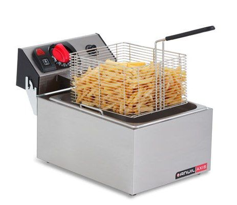 FRYER COUNTER TOP 5LT 1 BASKET ANVIL