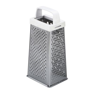 GRATER 4 SIDE PLAST HNDL 190MM S/ST, CI