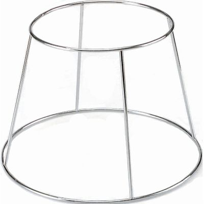 CHROME PLATE SEAFOOD PLATTER STAND