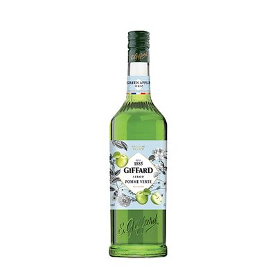 GREEN APPLE/POMME VERTE SYRUP 1L GIFFARD