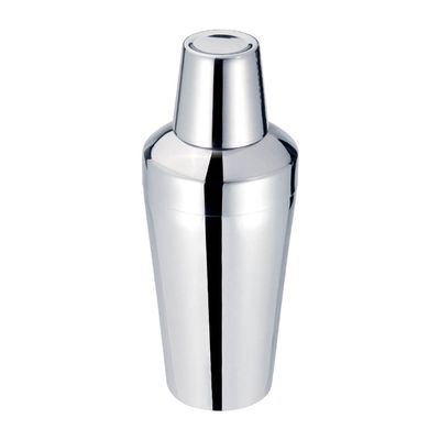 COCKTAIL SHAKER 3PCE 18/8