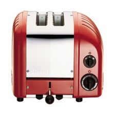 TOASTER 2 SLICE RED, DUALIT NEW GEN