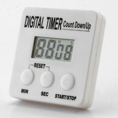 TIMER DIGITAL LCD JUMBO 4 DIGIT W/BUZZER
