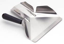 SCOOP CHIP STAINLESS STEEL