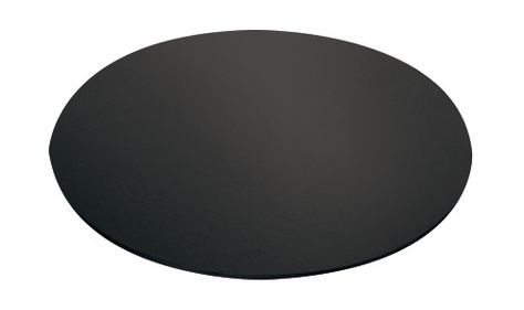 CAKE BOARD BLACK ROUND 30CM, MONDO