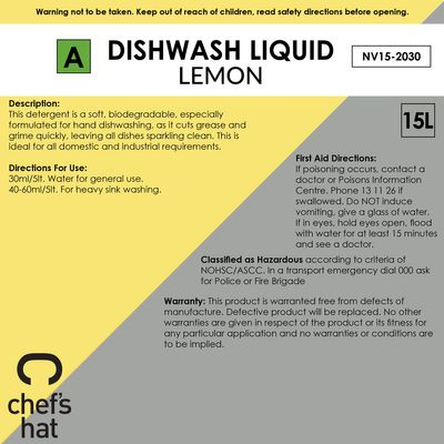 DISHWASH LQD LEMON