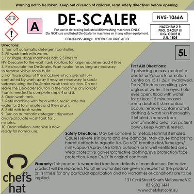 DE-SCALER 5LT