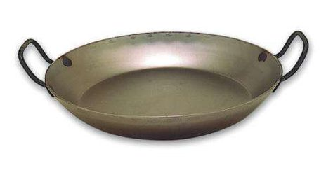 PAELLA PAN BLACK STEEL MURDOCK