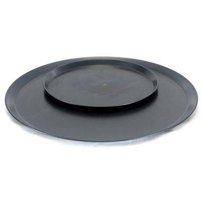PIZZA TRAY BLACK STEEL