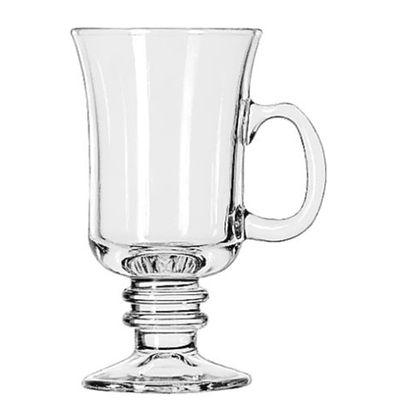 GLASS IRISH COFFEE WITH HANDLE 250ML