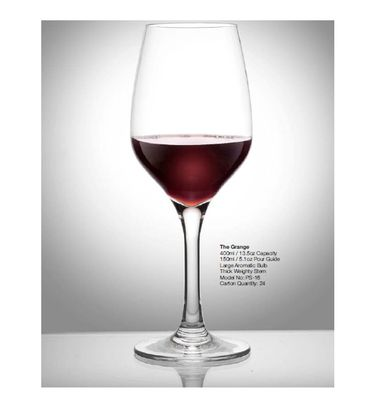 WINE GLASS GRANGE 400ML P/CARB, POLYSAFE