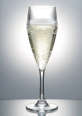 CHAMPAGNE FLUTE 195ML P/CARB, POLYSAFE