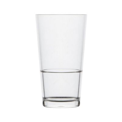 MIXING GLASS/PINT 570ML P/CARB, POLYSAFE