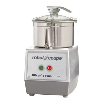 BLIXER 5 PLUS 5.5L S/S BOWL ROBOT COUPE