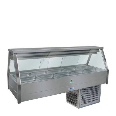 COLD FOOD DISPLAY BAR 10 PAN ROBAND