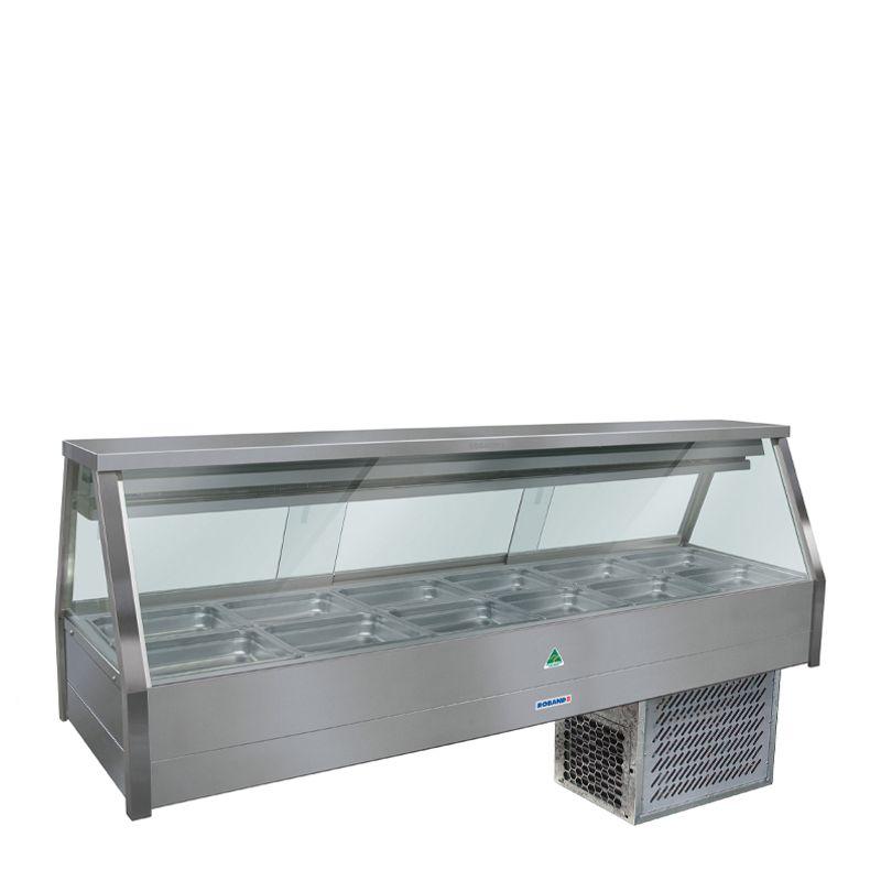 COLD FOOD DISPLAY BAR 12 PAN ROBAND