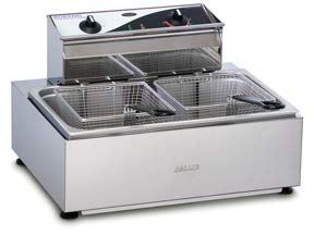 FRYER COUNTER TOP 11LT 2 BASKET ROBAND