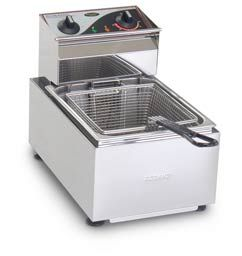 FRYER COUNTER TOP 5LT 1 BASKET ROBAND