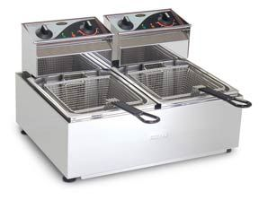 FRYER COUNTER TOP 2X5LT 2 BASKETS ROBAND