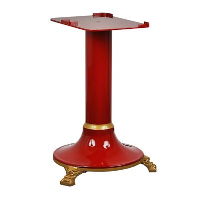 CAST IRON SUPPORT STAND RED NOAW