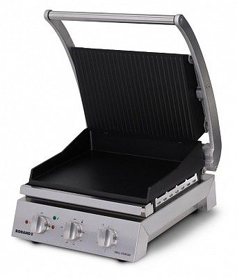 GRILL STATION RIBBED N/ST 6 SLICE ROBAND