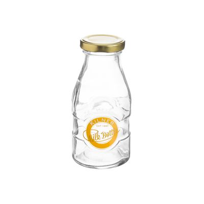 MILK BOTTLE SMALL 189ML, KILNER