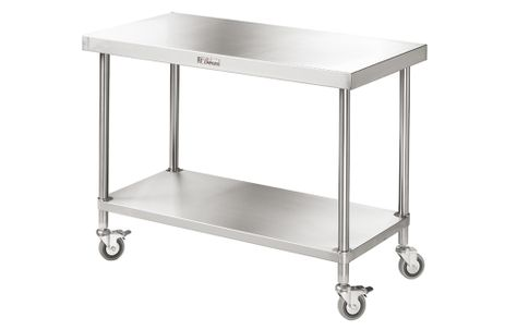 WORK BENCH MOBILE SIMPLY STAINLESS