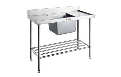 SINK BENCH RIGHT 1200WX600DX900H SIMPLY