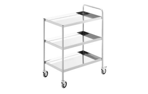 TROLLEY THREE TIER 800WX550DX900H SIMPLY