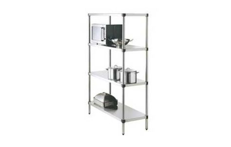 SHELVING S/STEEL 900WX525DX1800H SIMPLY
