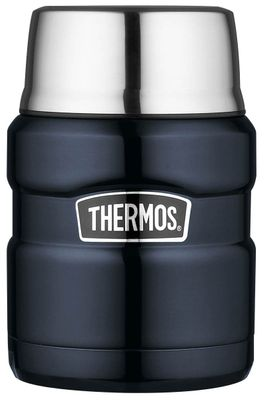THERMOS FLASK MIDNIGHT BLUE