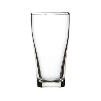 BEER GLASS 285ML, CROWN CONICAL