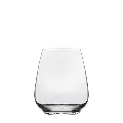 GLASS STEMLESS CAB/MERLOT 670ML, ATELIER