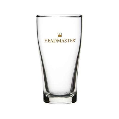 BEER GLASS 285ML CONICAL HEADMASTER