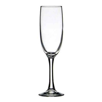 GLASS FLUTE 150ML, CROWN ATLAS