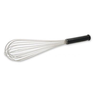 WHISK PIANO W/ABS BLACK HANDLE, CATERCHEF
